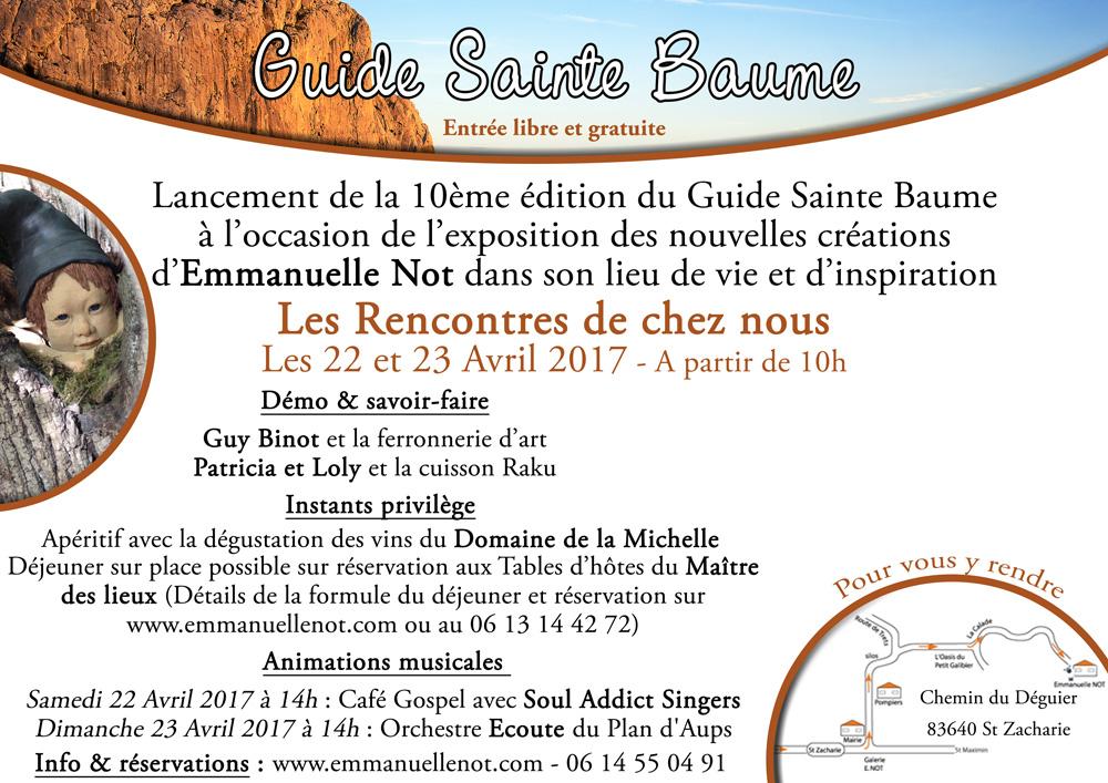 Lancement Guide Sainte Baume 2017