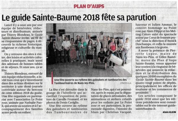 La Provence2018