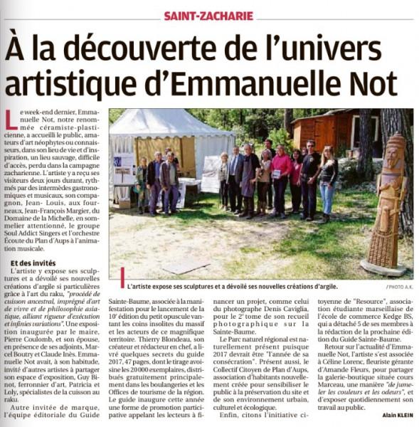 Guide 2017 chez Emmanuelle Not