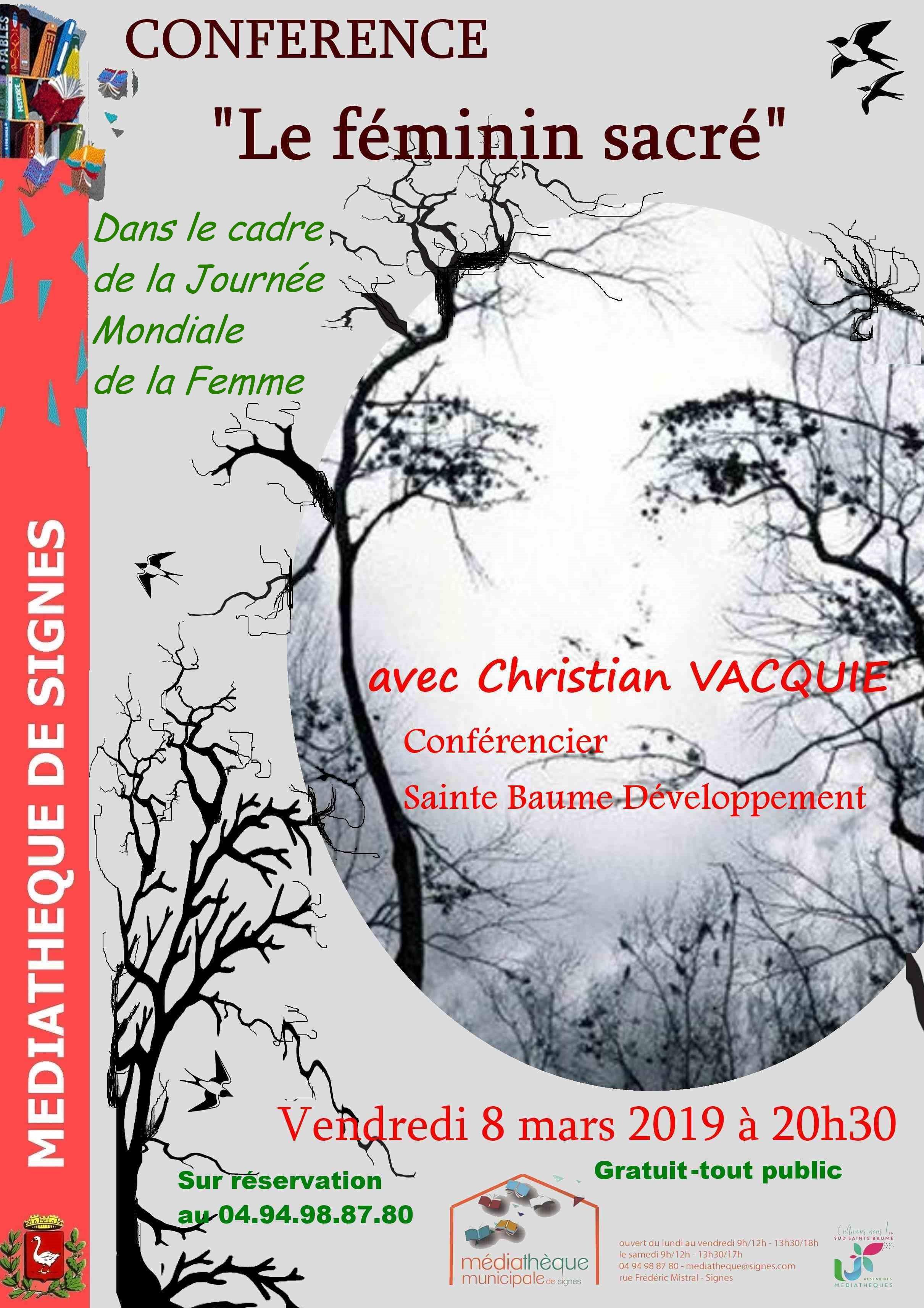 Christian Vacquié en conférence