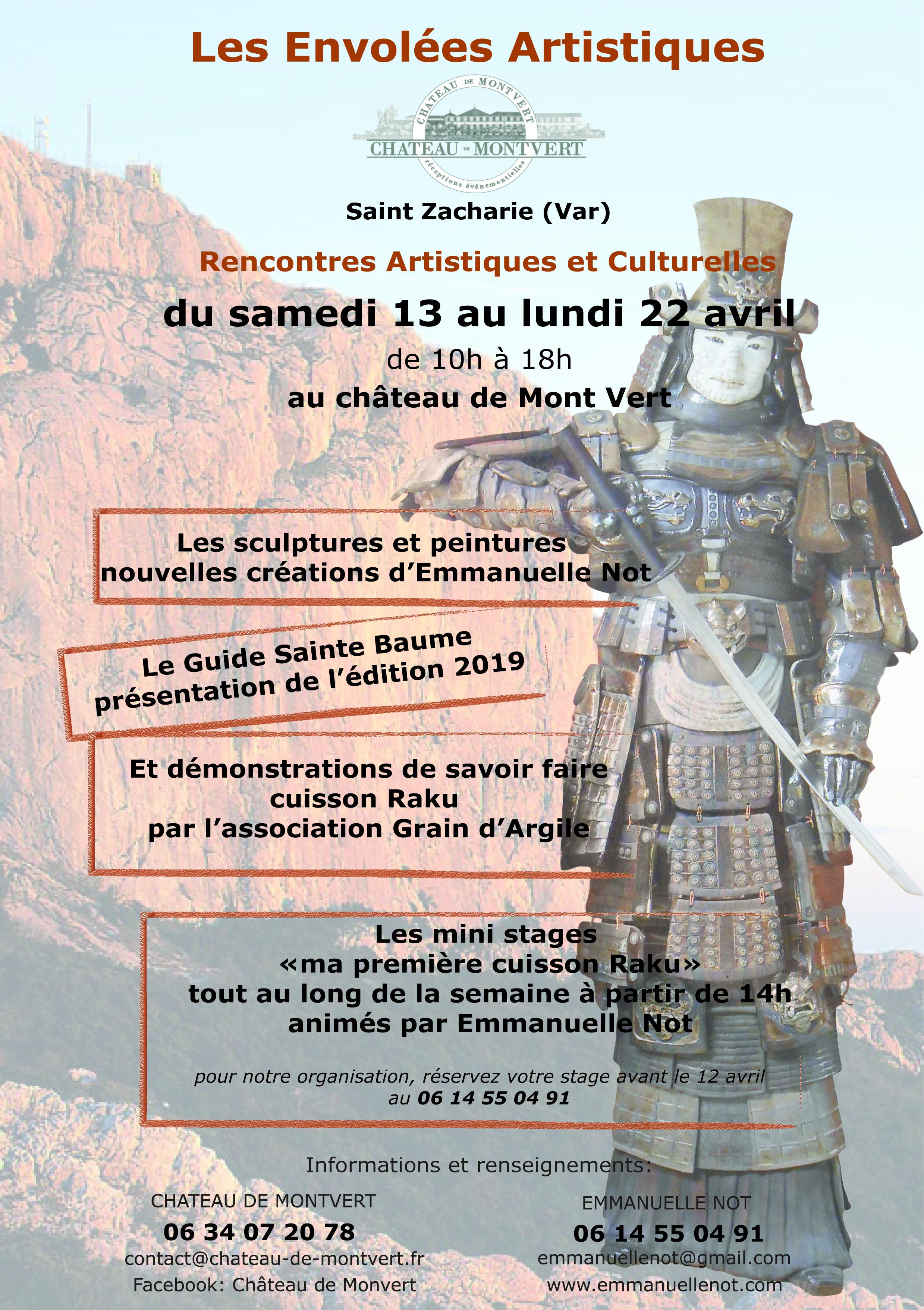 Présentation du Guide Sainte-Baume 2019