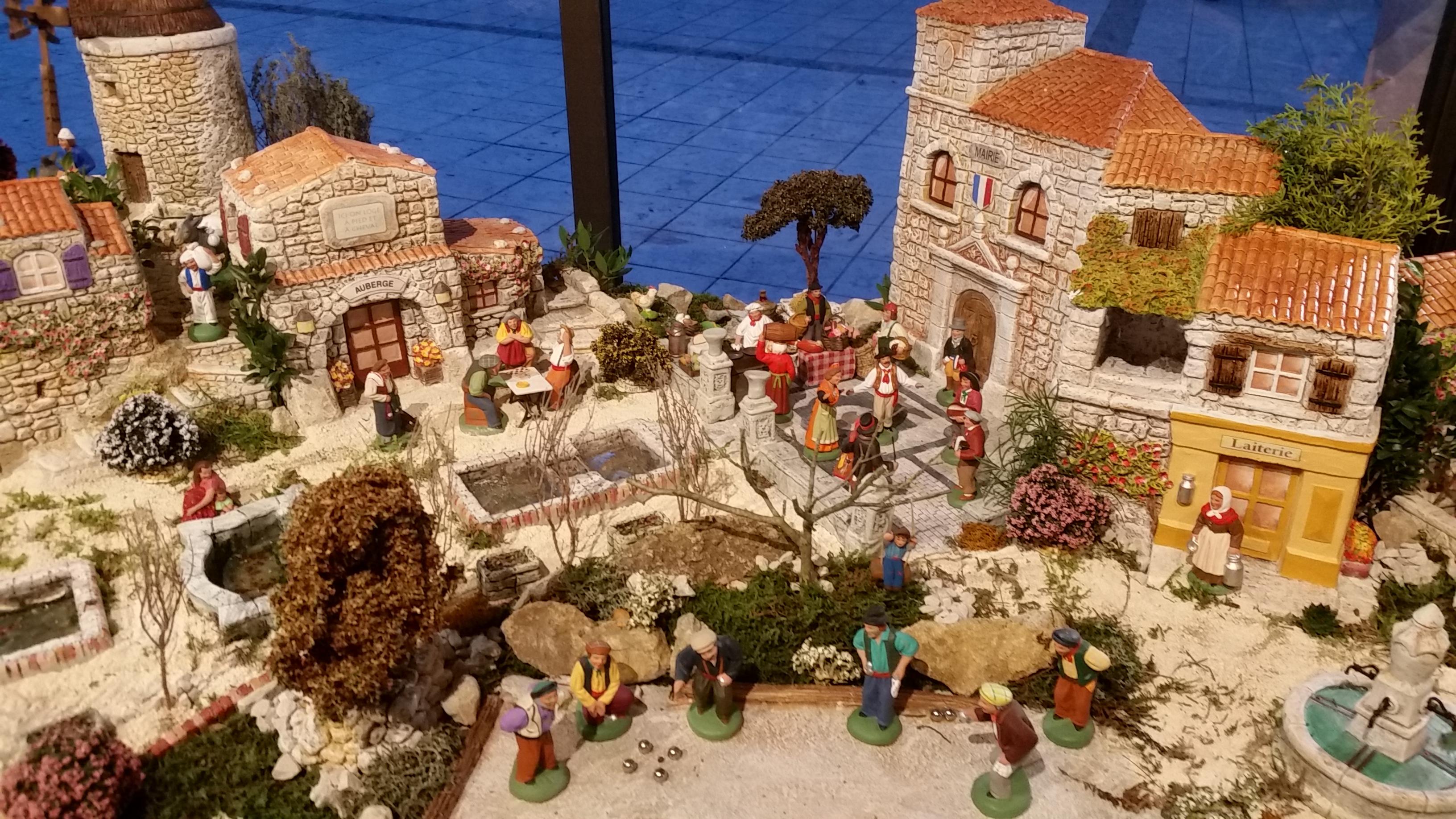 La crèche de Gémenos
