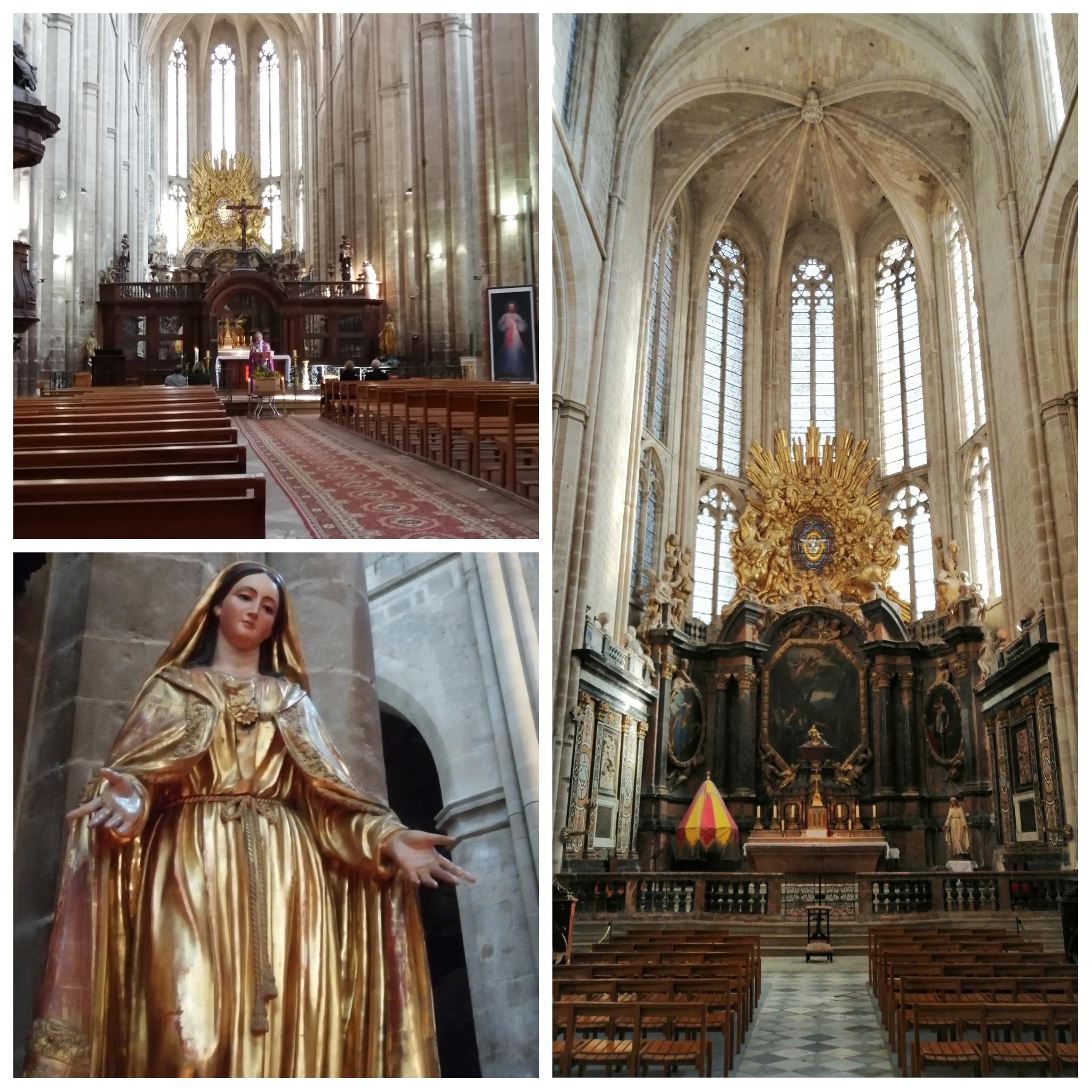 La Basilique Sainte Marie-Madeleine toujours ouverte
